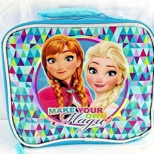 Disney Frozen Insulated Lunchbox Teal Elsa/Anna Ma